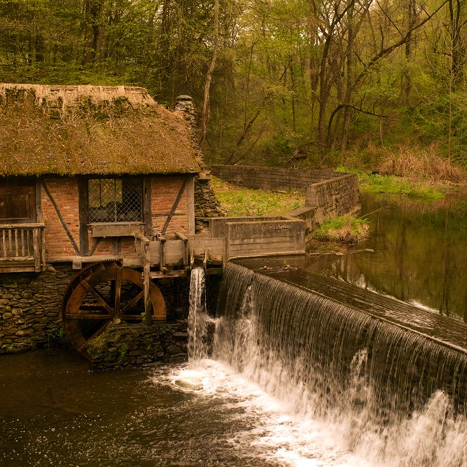 The Dard Hunter Mill at Gomez Mill House - Marlboro, NY (Photography by Joseph Squillante)