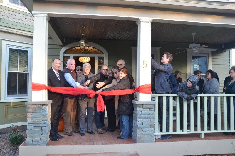 Danskammer House Grand Opening Ribbon Cutting Nov 2017