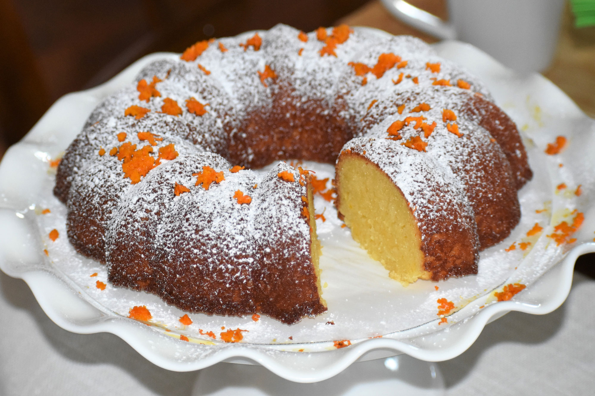 Afternoon Tea French Country Orange Cake
