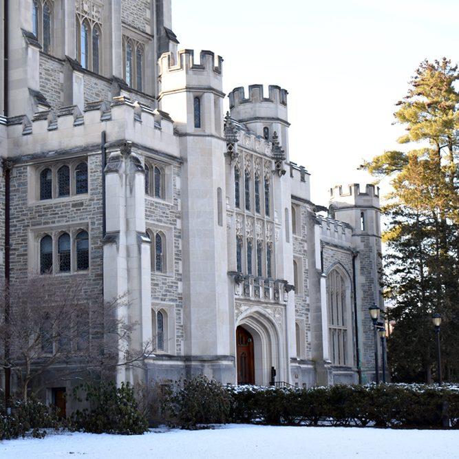Thompson Library Vassar
