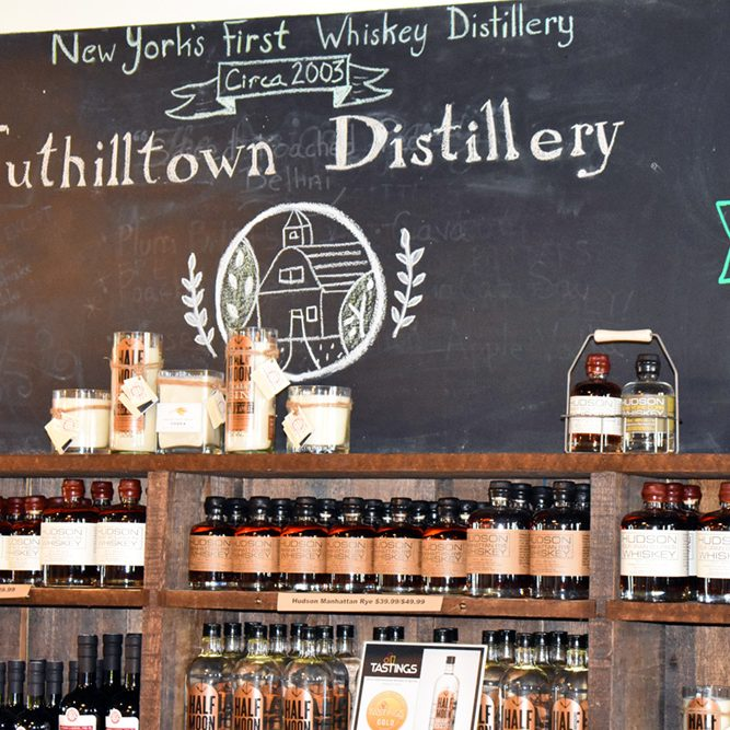 Tuthilltown Distillery Display