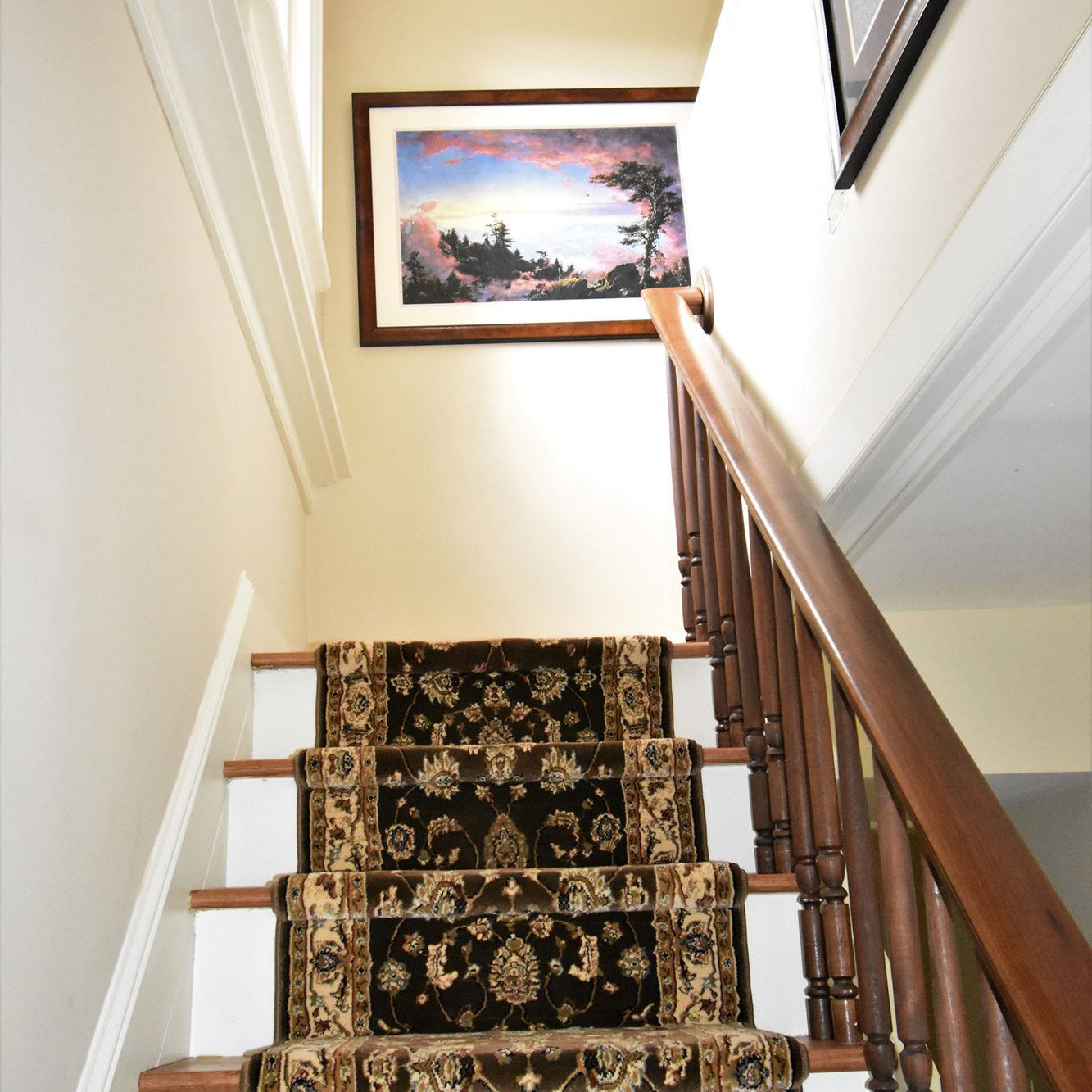 Upper Stairs Church Paintings
