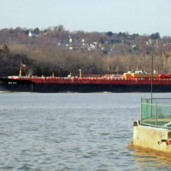 River Barge Traffic